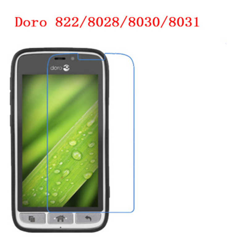 5 Pcs Ultra Thin Clear HD LCD Screen Guard Protector Film With Cleaning Cloth For Doro 822,8028,8030,8031.