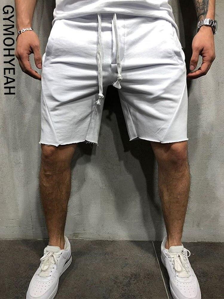GYMOHYEAH Cargo-Shorts Bermuda Homme Streetwear Modis Loose Cool Masculina Summer New
