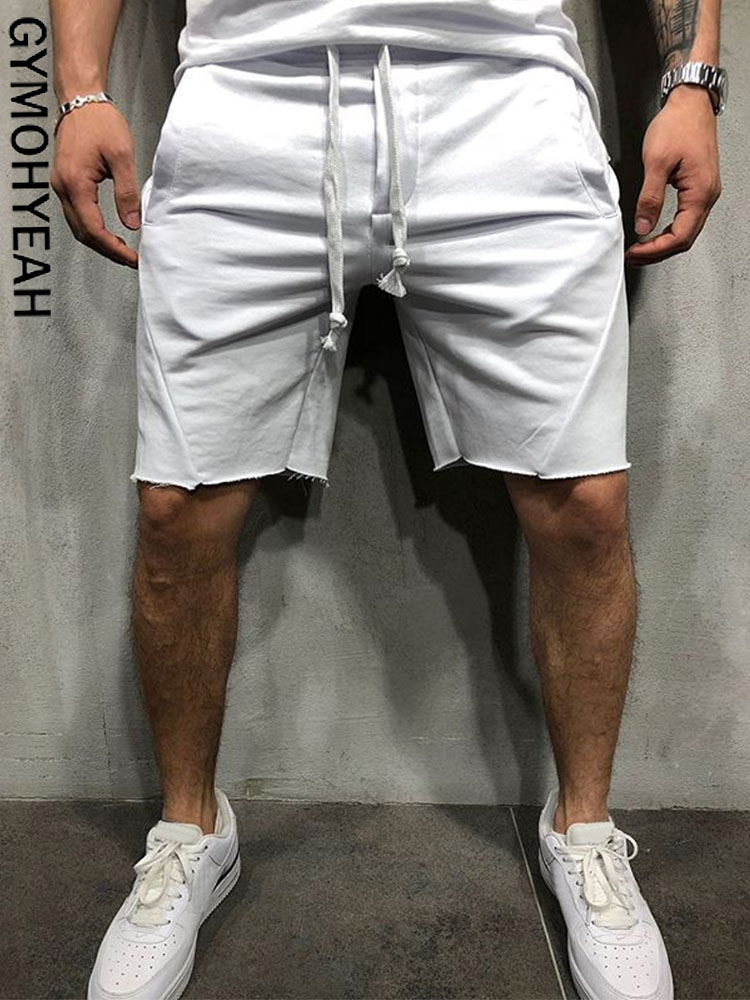 GYMOHYEAH 2019 New Loose Cargo   Shorts   Men Cool Summer   Short   Pants Hot Sale Homme Cargo   Shorts   bermuda masculina modis streetwear