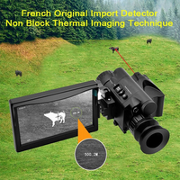 New Thermal Imaging Infrared Night Vision Scope Monocular Camera Rangefinder Security Monitoring with LDC Screen Thermal Vision