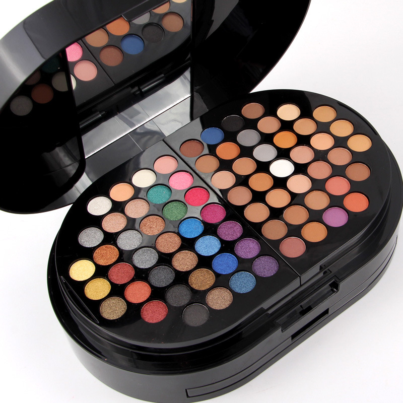 MISS ROSE Cosmetic 130 colors Makeup Palette Eyeshadow Eyebrow Blusher Powers Pro Make up Set matte nude shimmer eye shadow new arrival woman brand cosmetic makeup set multi function make up naked palette eyeshadow palette