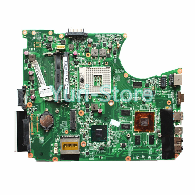 NOKOTION For Toshiba Satellite L750 L755 Motherboard A000079330 DABLBDMB8E0 HM65 PGA989 HM65 Fully Tested wholesale cnbald 1959 custom signature electric guitar with bridge bigsby 20th anniversary in black 120323