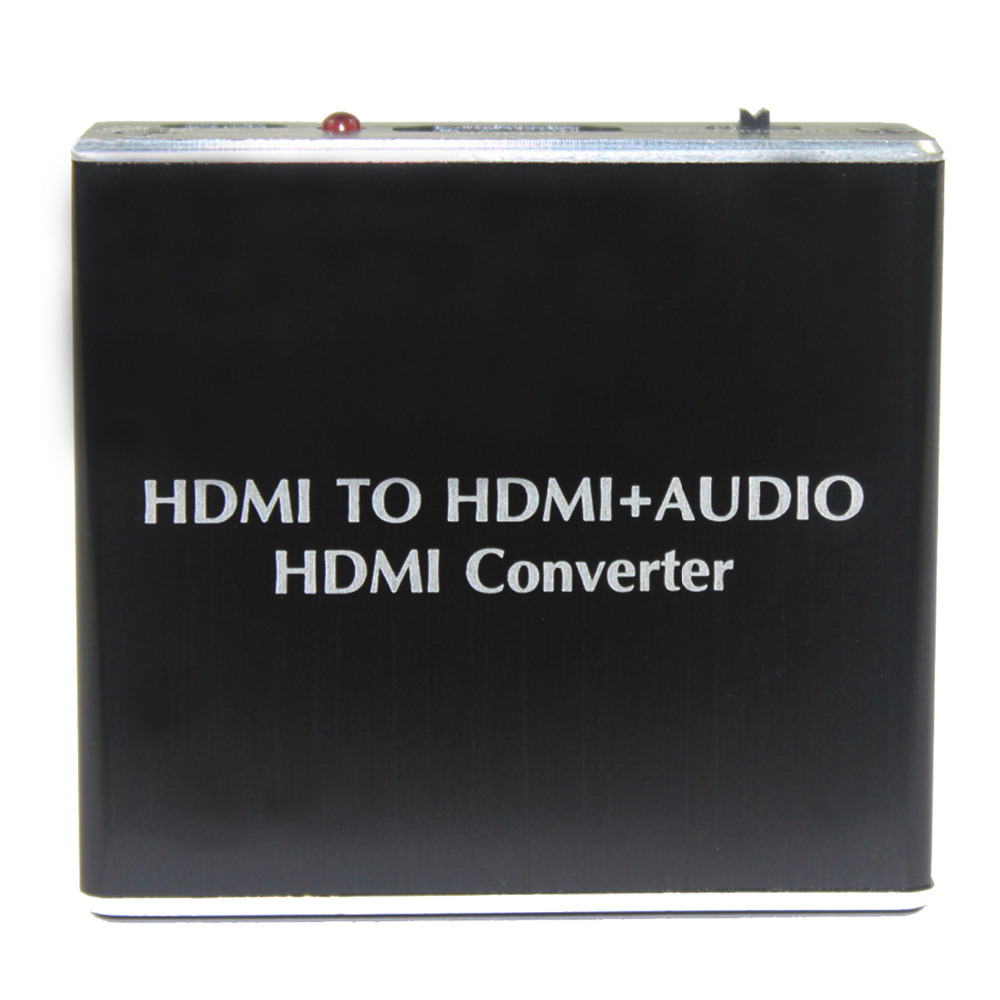 HDMI To HDMI + Audio HDMI Spdif Converter Audio Extractor  HDMI V1.4 Support 4K*2K  Power Free