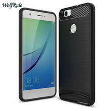 WolfRule Case For Huawei Nova Cover Anti-knock TPU Brushed Business Mobile Coque Phone Case For Huawei Huawei Nova Case