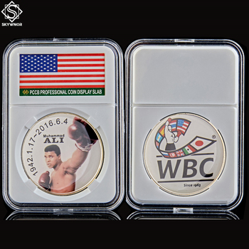 2016 Muhammad Ali WBC Boxing Sportman of The Century Coin Collection With PCCB Cover image