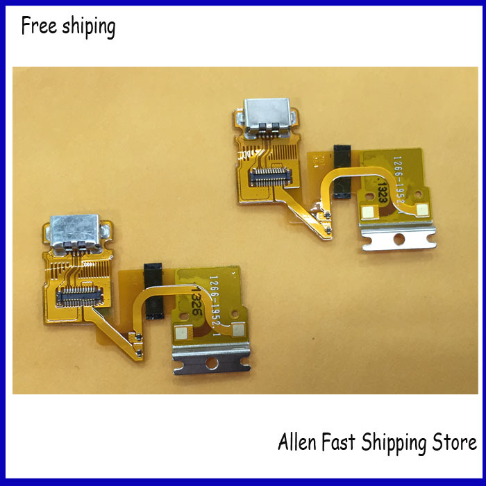 Original font b USB b font Charger Charging Port Dock Connector Flex Ribbon Cable For Sony