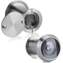 22 мм 220 градусов широкий угол объем двери зритель домашней безопасности Оптическое стекло для 35 мм до 60 мм дверного зрителя красная бронза 35~ 60 мм толщиной
