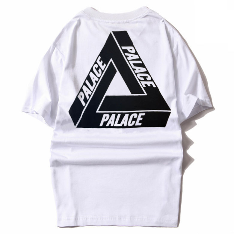 eacbd872 Men's T Shirts Brand Crystal Palace Clothing Classic Triangle Sport White  Tee Short Sleeve Cotton Skateboards Streetwear Tshirt -in T-Shirts from  Men's ...