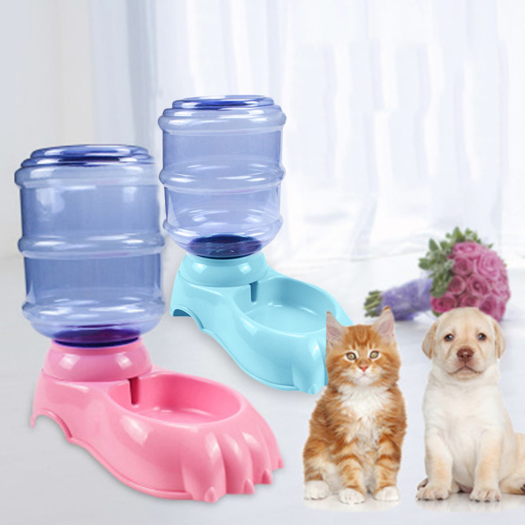 3.5L Cats Dogs Automatic Pet Feeder Drinking Fountain Feeding Bottle Pets Dog Food Bowl Water Dispenser Pet Supplies