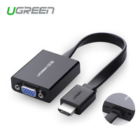 Ugreen 1080P HDMI To VGA Adapter Digital To Analog Audio Converter Cable For Xbox 360
