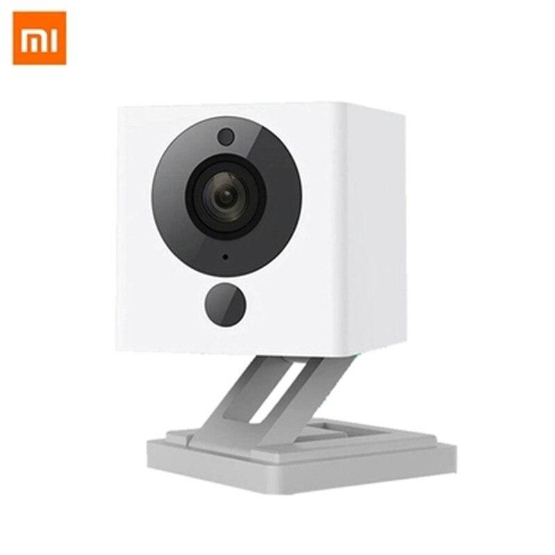Original Xiaomi Mijia Xiaofang 1S 110 Degree F2.0 8X 1080P Digital Zoom Smart  Camera IP WIFI Wireless  App baby Mini Camaras hdmi extender rj45