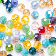 6mm Austria Round Faceted Ball Crystal Beads For Jewelry Making Bracelet Diy Loose Bead Accessories Spacer Glass Wholesale