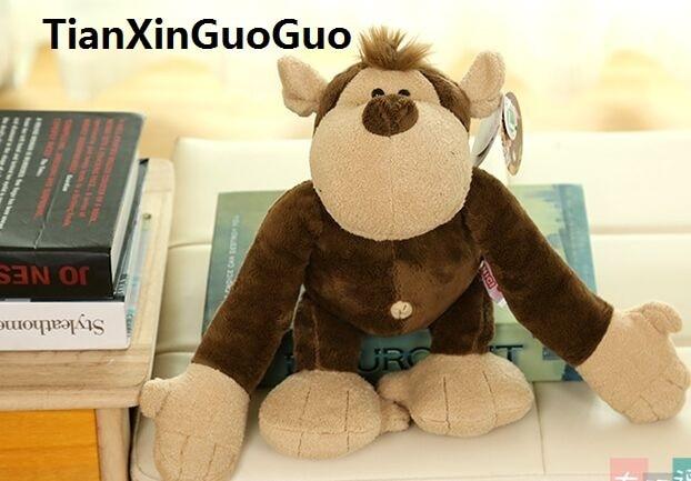 Knuffel Met Licht : Grote 50 cm mooie orangutan knuffel lichtbruin aap zachte pop