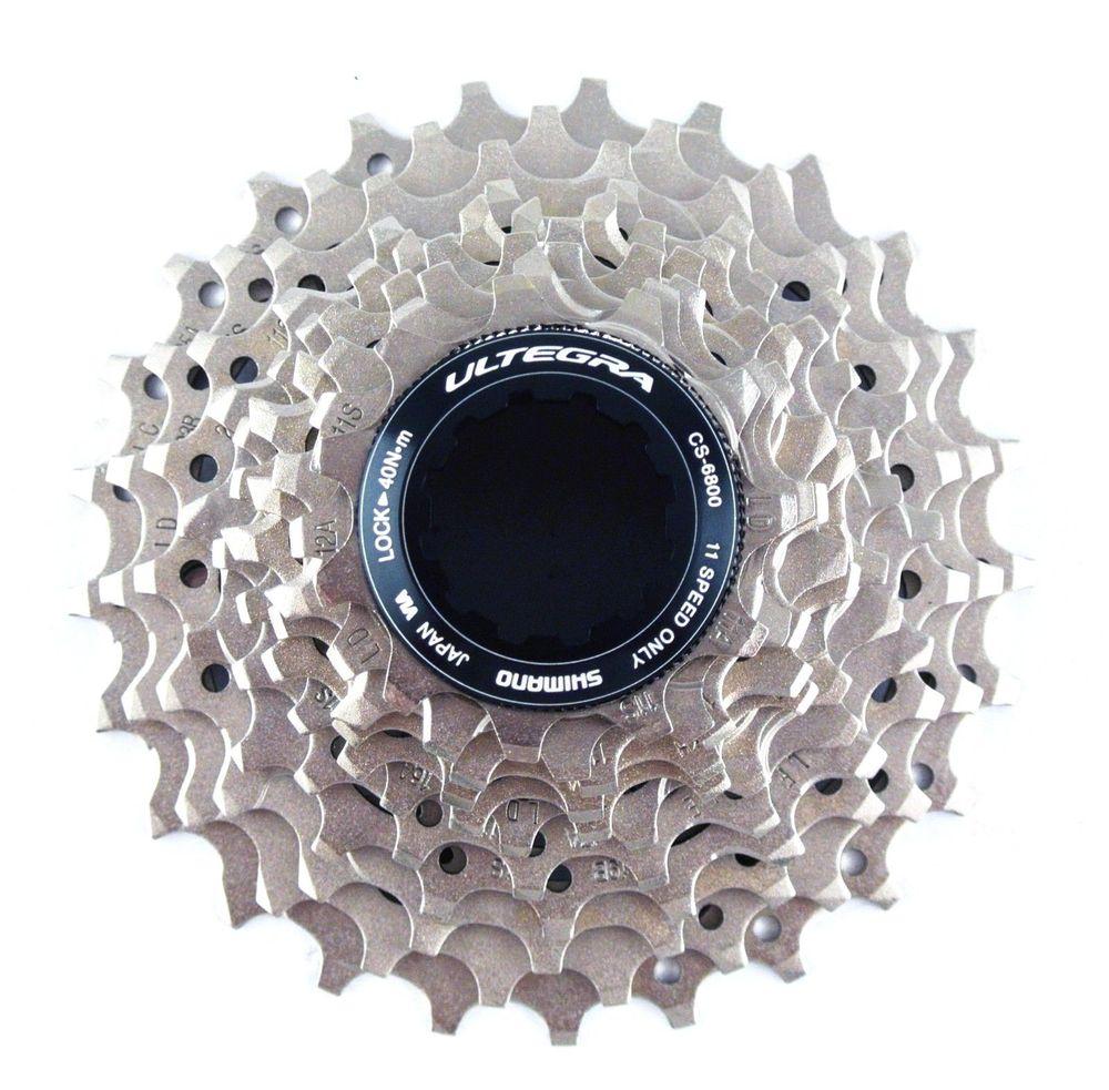 все цены на shimano Ultegra 6800 CS-6800 Road Bike Cassette flywheel 11 Speed 11-23 11-25 11-28 11-32T Sprocket онлайн