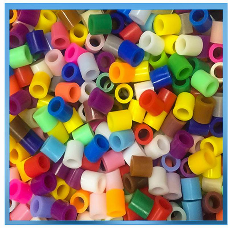 Building Blocks Toy For Child Educational Puzzle Spell Bean Small Gramules 5mm 36 Colors Pack Eco Friendly Plastic Material Used