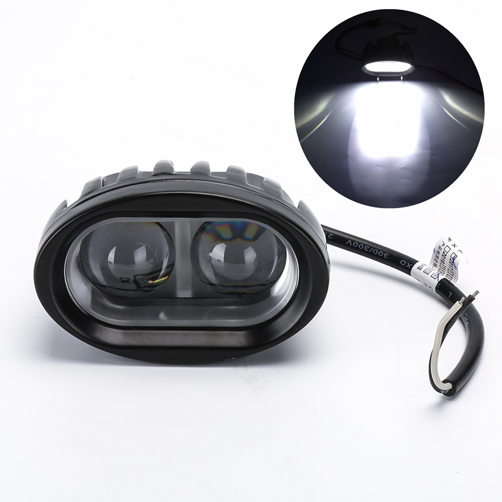 цена на SUV Motorcycle Light Bulb Spotlight 20W 12V 24V Worklight Offroad Working Light for ATV SUV Truck Boat LED Fog Lamp Car-styling