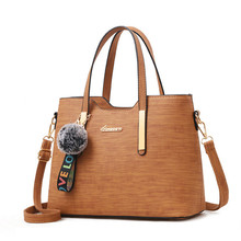 Women Messenger Bags With Tassel Famous Designers Leather Handbags Large Capacity Shoulder Tote bolsos 2019 New