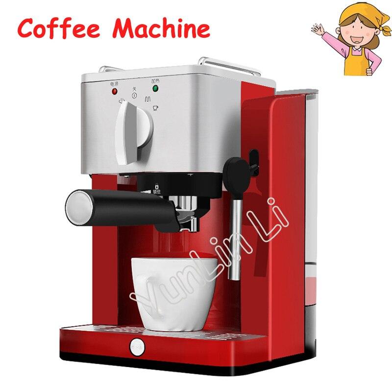 Espresso Coffee Maker 15 bar Mini Steam Coffee Machine Pump-Type High-Pressure Italian Coffee Machine TSK-1827RA