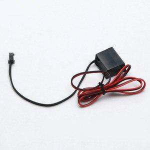 Image 4 - Pilote dalimentation pour fil néon 12V DC, Mini contrôleur dalimentation pour câble lumineux, 1 à 5M, onduleur, adaptateur dalimentation, Flexible