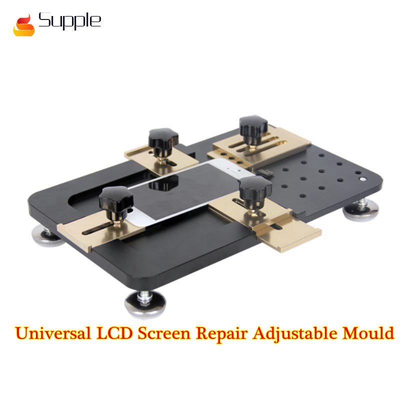 Supple Universal LCD Screen Repair Adjustable Mould LCD OCA Laminate Fixed mold for iPhone for Samsung for Huawei free shipping precise universal lcd screen position golden fixed mould for iphone samsung sony huawei xiaomi fixture base