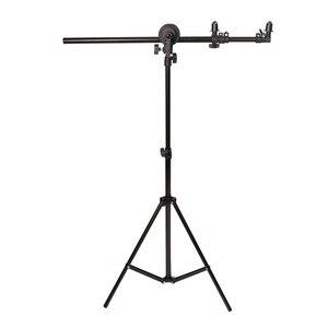 Image 3 - Uchwyt wspornika Selens głowica skrętna reflektor podparcie ramion tarczy z 2m lekki statyw podstawa tła uchwyt do statywu dla