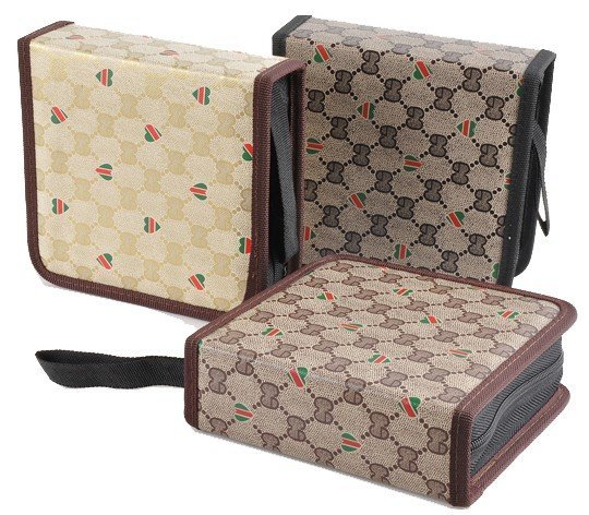 free shipping high-end  cd Box/package/Cute CD Storage Bag/Case/Disc Storage Package/Holder  40pcs cd case