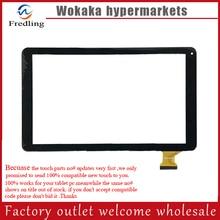 Blanco o negro Nuevo Para 10.1 pulgadas Tablet PC de pantalla de escritura a mano HXD-1027 SR Panel de la pantalla táctil de Cristal Digitalizador Reemplazo partes