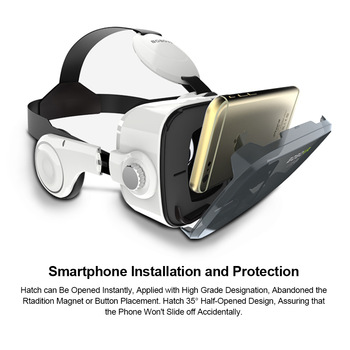 Bobovr z4 VR Box Virtual Reality Helmet Goggles 3D VR Glasses Mini Google Cardboard VR Box 2.0 BOBO VR for 4-6' Mobile Phone 1