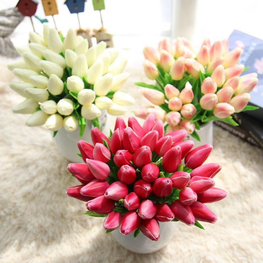 tulipes bouquet de mariée-achetez des lots à petit prix