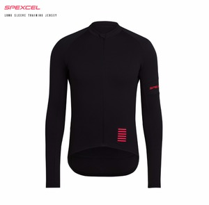 SPEXCEL PRO TEAM Spring summer long sleeve cycling jersey Top quality bicycle racing Jersey black Pink cycling gear free ship(China)