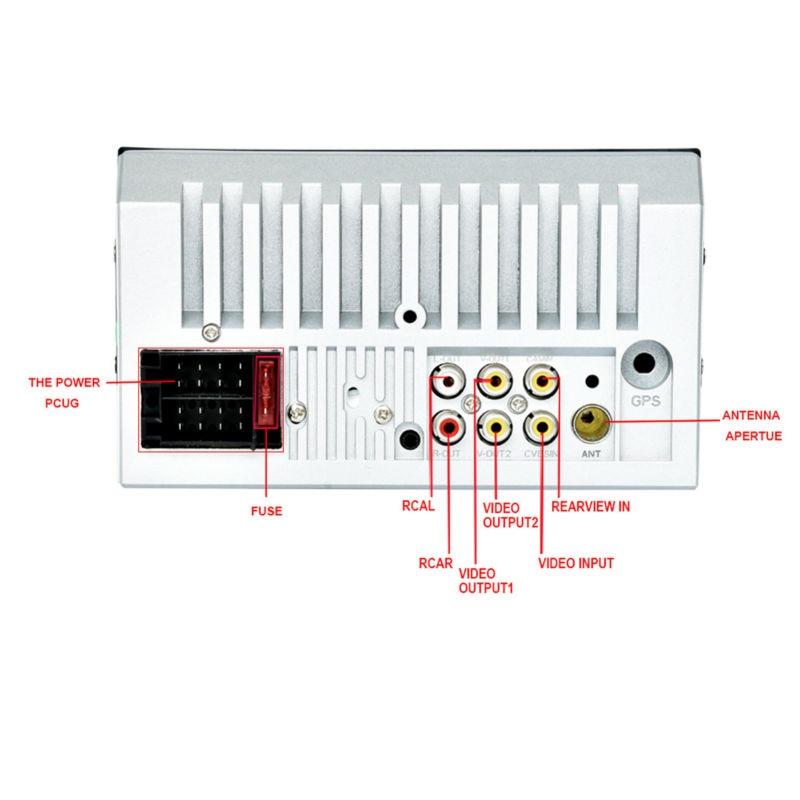 Vehemo FM/USB/AUX 6,6 дюймов MP5 плеер Автомобильный MP5 плеер 7653TM Универсальный Bluetooth автомобильные аксессуары авто MP5 плеер камера заднего вида