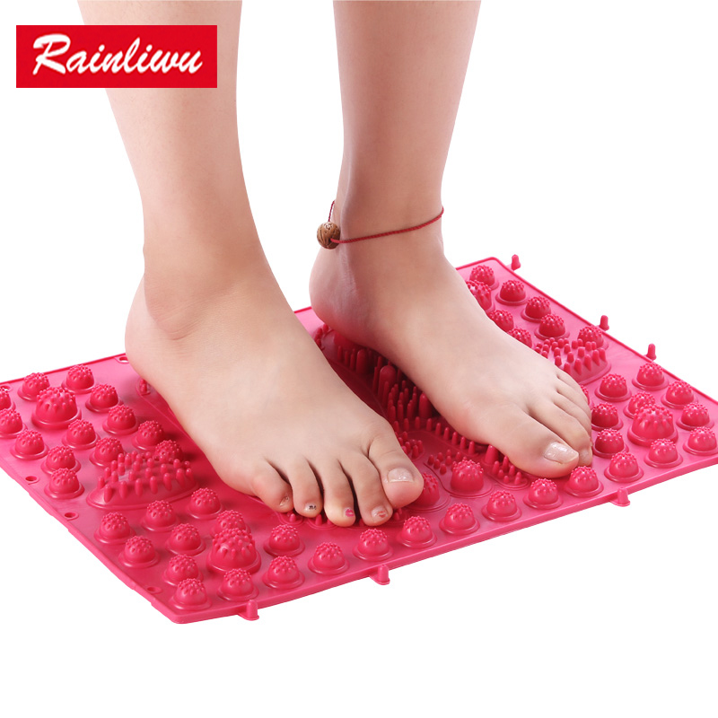 Foot massager New style Massage board Foot massage pad Ultra pain thick Foot type Health care Walking playing excising intrument electric antistress therapy rollers shiatsu kneading foot legs arms massager vibrator foot massage machine foot care device hot