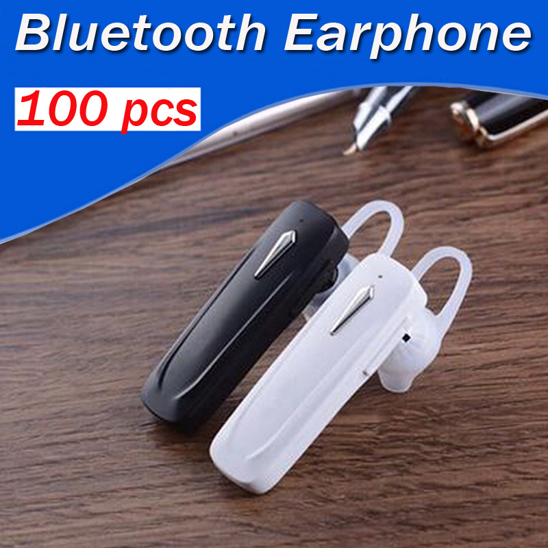 Wholesale 100 pcs/lot Wireless Bluetooth sport Earphone headphones handfree Microphone universal for all phone for iphone xiaomi