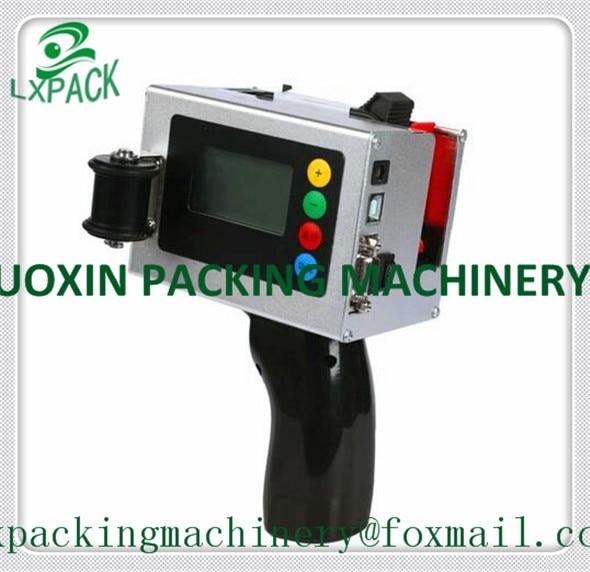 """""""LX-PACK"""" - mažiausia gamyklinė kaina PRAMONINIŲ RAŠTŲ SPAUSDINTUVŲ SISTEMOS Nešiojamasis kodavimo datos žymėjimas Nerūdijančio plieno rankiniu spausdintuvu"""