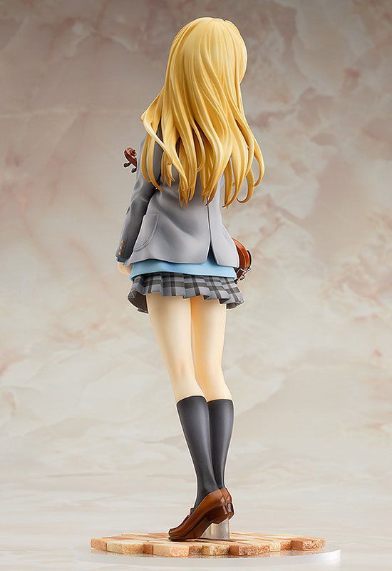 18CM Japanese Anime sexy Beautiful girls GSC Your Lie in April anime figures sex figure doll Sit toilet For Gift and Collection
