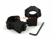 1 Inch High Type Riflescope Mount 11mm dovetail width 21mm double screw Rifle Scope Ring Stop