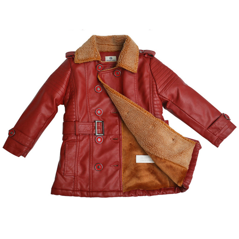 causal kids jacket coat coral velvet leather jacket coat for 2-8yrs children boys girls students outerwear warm leather clothes boys winter coat 2017 children lamb velvet warm cotton padded jacket parkas outerwear for girls kids clothes 2 7t