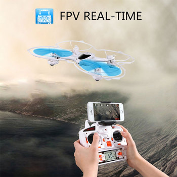 Original MJX X300C FPV RC Drone 2.4G 6 Axis Headless Mode RC UAV Drones With Camera hd Support Real-time Video toys for boys