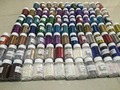 100 bags of different solvent resistant glitter samples set for gel Nail polish making,candle making 5 grams each
