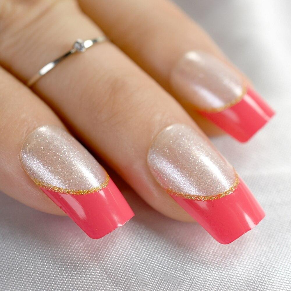 Tienda Online Shimmer plata pura brillo uñas francés claro espíritu ...