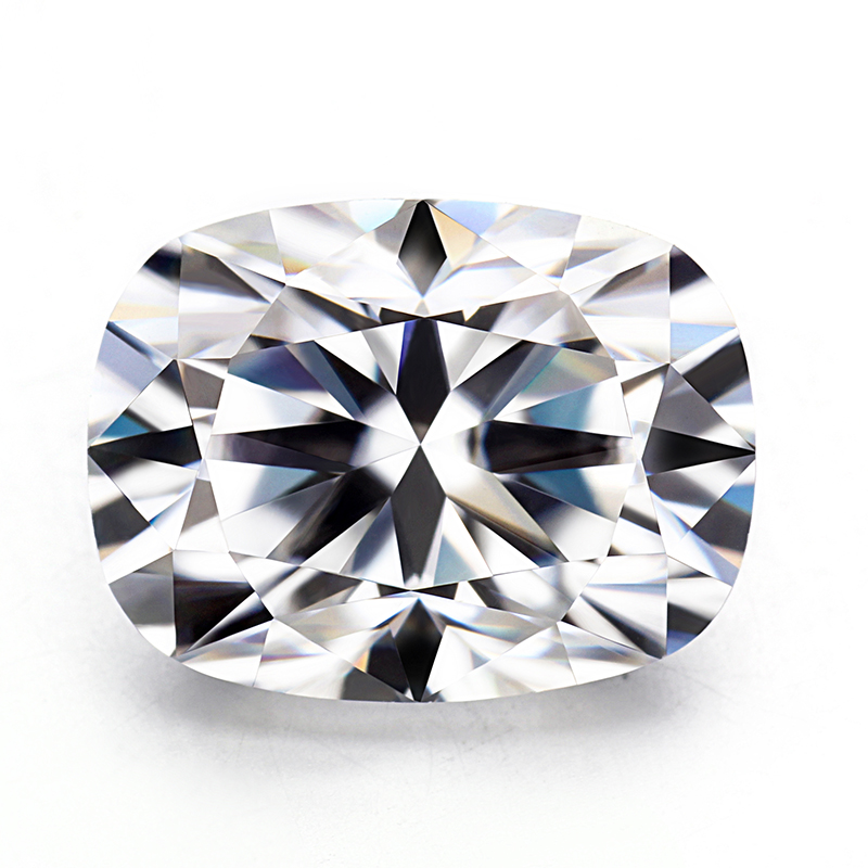 EF color white syn diamond 9*11mm elongated cushion cut lab created moissanites gems stones stone for jewelry making image
