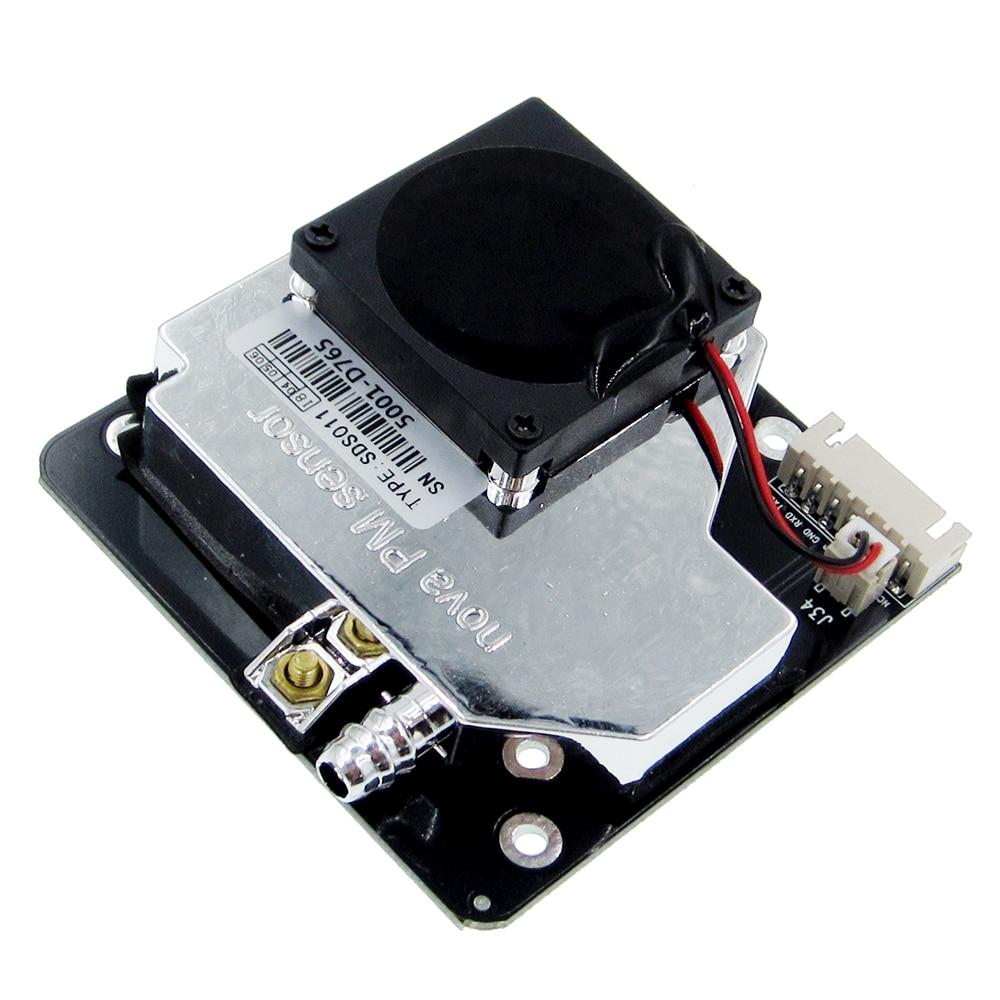 Image 3 - Nova PM сенсор SDS011 Высокоточный лазер pm2.5 Датчик качества воздуха модуль супер пыли датчики, цифровой выход-in Сенсоры from Электронные компоненты и принадлежности on AliExpress