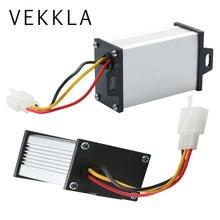 Преобразователи Электрический понижающий преобразователь 36 В/48 В/60 в/72 В до 12 В DC модуль Автомобильный источник питания напряжение для электромобиля