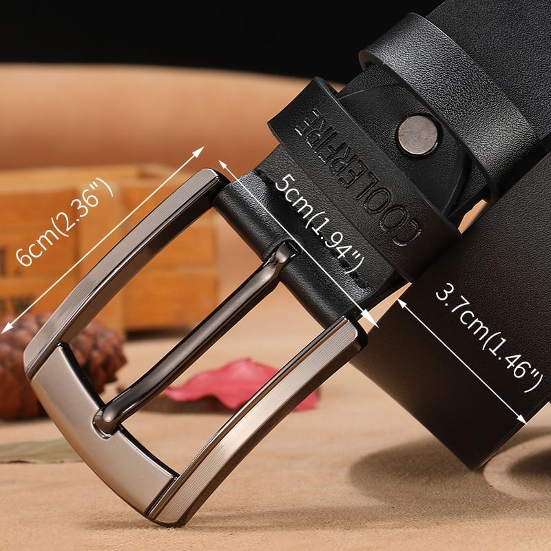 men high quality genuine leather belt luxury designer belts men cowskin fashion Strap male Jeans for man cowboy free shipping 4