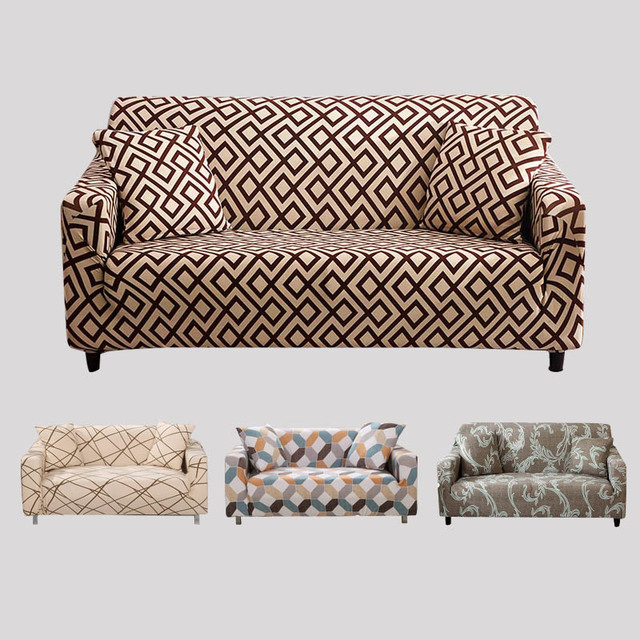 US $6.62 50% OFF|L Shaped Sofa cover Spandex Slipcover Sofa Set Covers  Elastic Sofa Covers For Living Room housse canape Sectional Couch Cover -in  ...