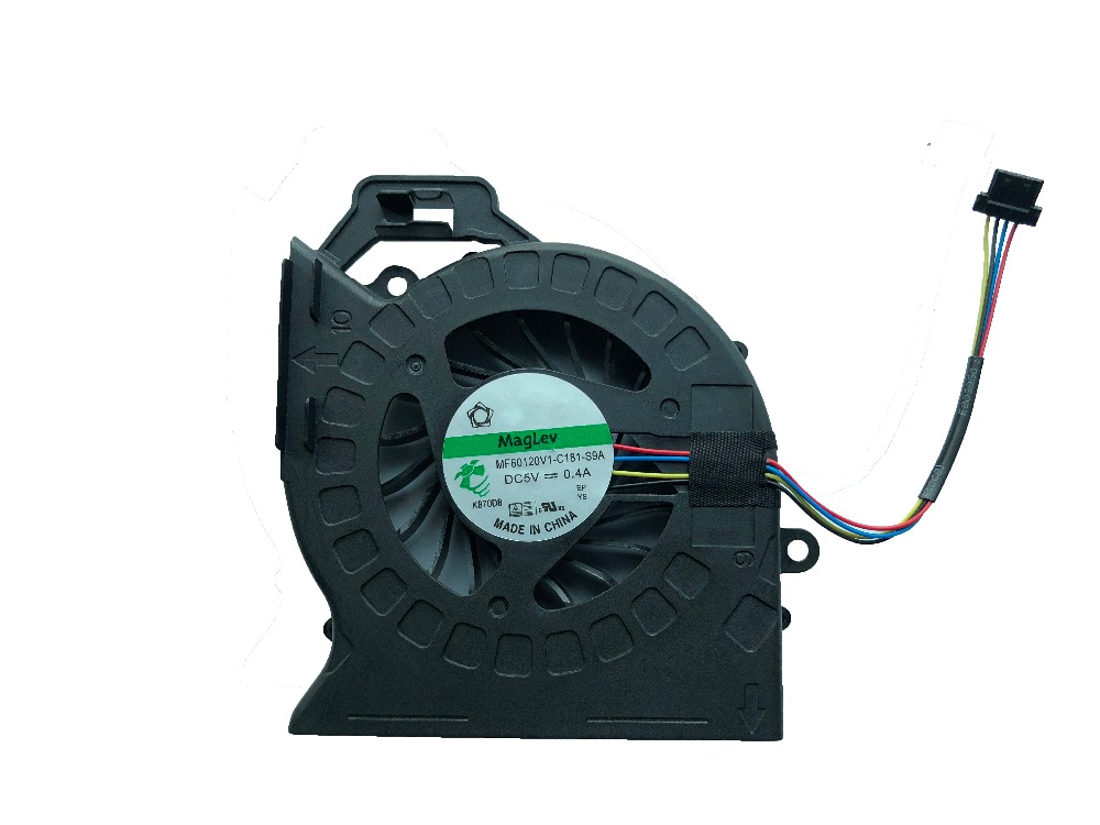 New Original SUNON For HP DV6 DV6-6000 DV6-6029 DV6-6050 DV6-6090 DV7 DV7-6000 cooler MF60120V1-C181-S9A 665309-001 Cooling fan free shipping for sunon 682061 001 mf75090v1 c100 s9a dc 5v 0 40a 4 wire 4 pin heatsink fan page 2