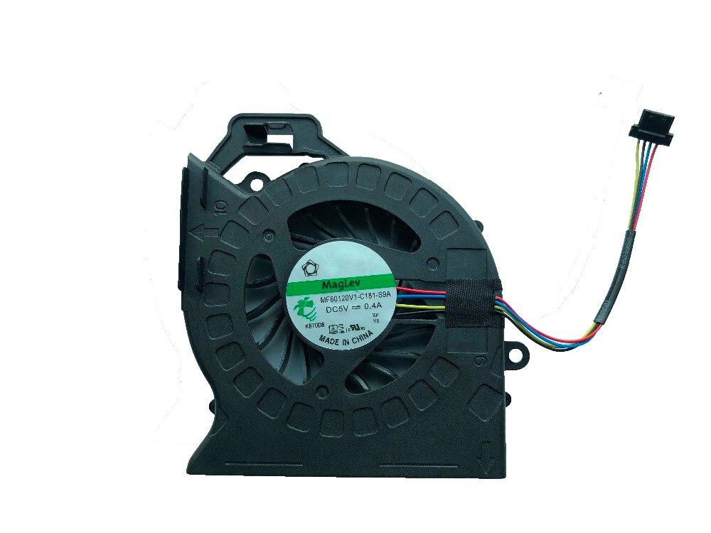 Nuevo SUNON Original para HP DV6 DV6-6000 DV6-6029 DV6-6050 DV6-6090 DV7 DV7-6000 refrigerador MF60120V1-C181-S9A 665309-001 ventilador de refrigeración