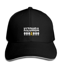 Мужские бейсболки в стиле хип-хоп с принтом на заказ Kizomba, мужские бейсболки