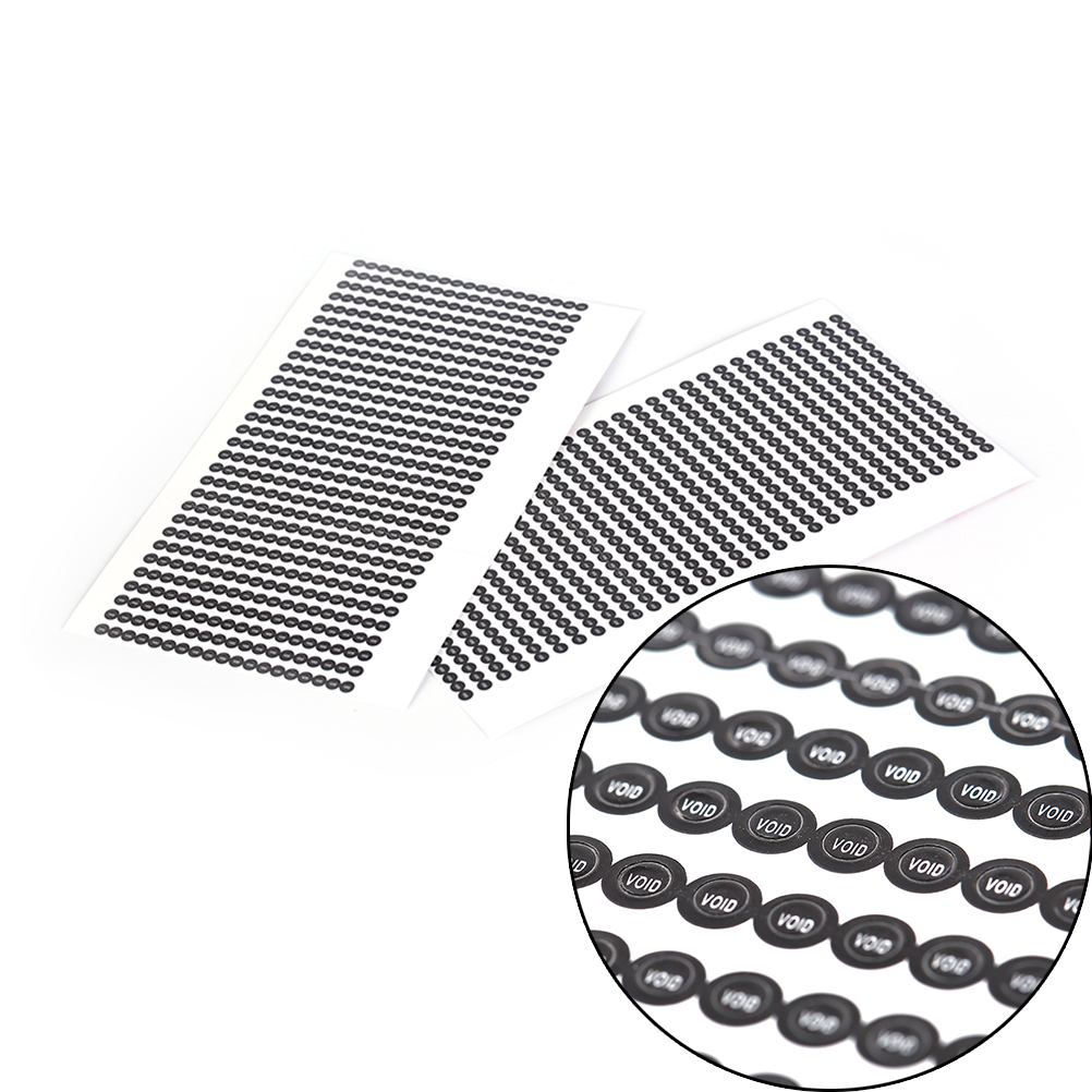 1000pcs/lot Round 2.5mm Void Sticker Warranty