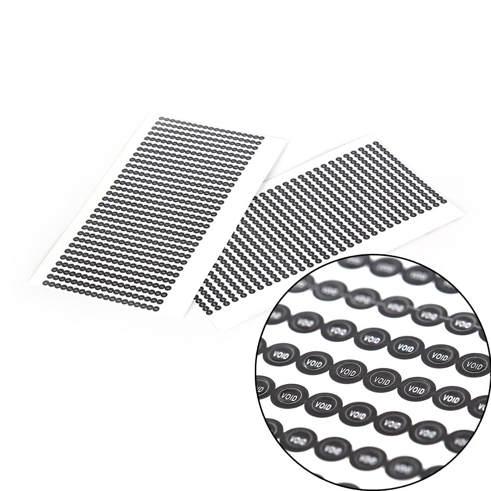 1000pcs/lot Round 2.5mm Void Sticker Warranty
